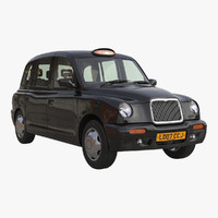 taxi 3D models
