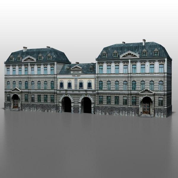 French house v5 3D Models