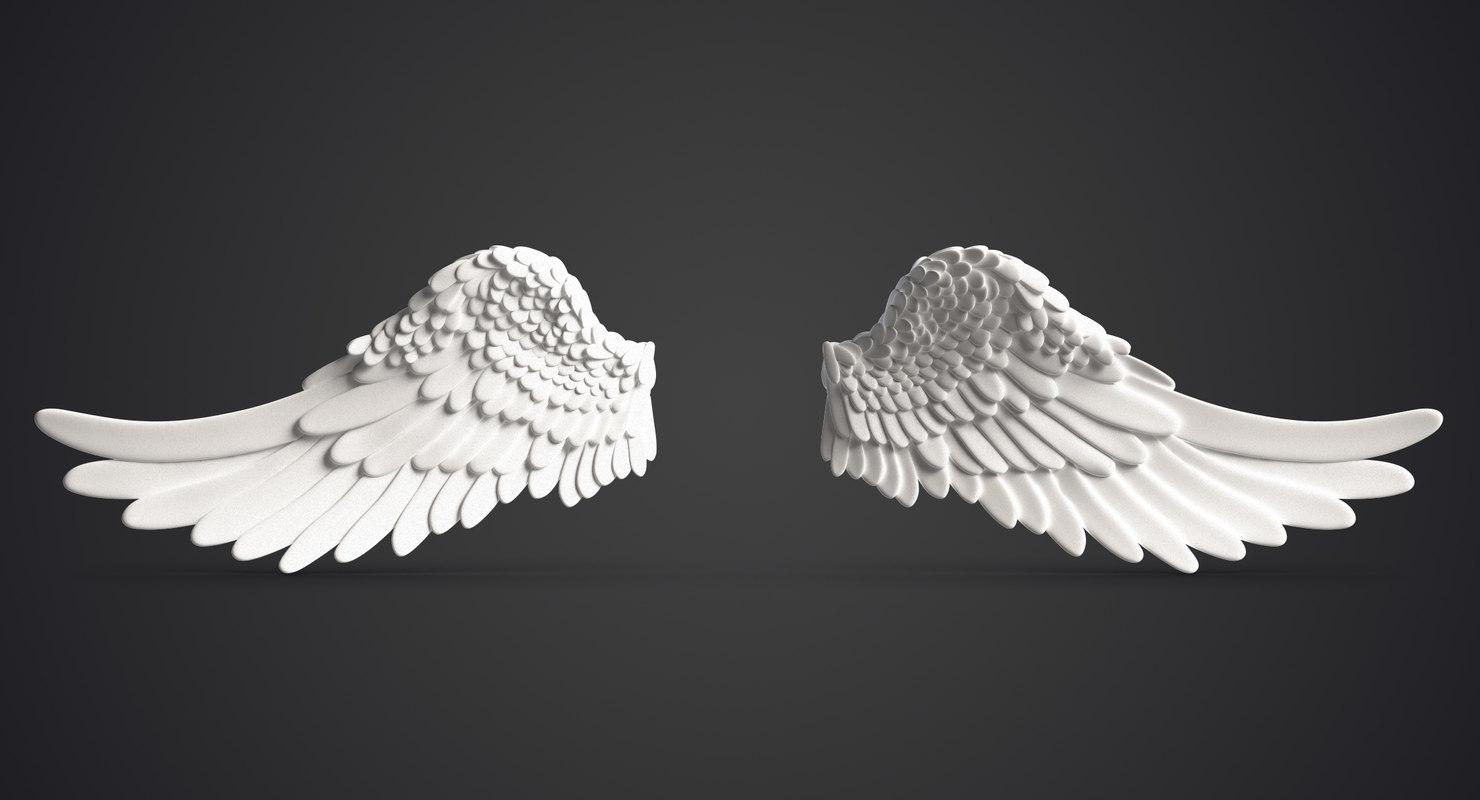 Angel Wings 3d Model Free Download - motorbestline's blog