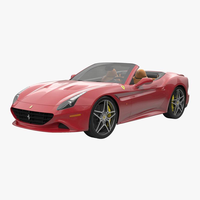 Ferrari California T 2015 Roadster 3d model 00.jpg