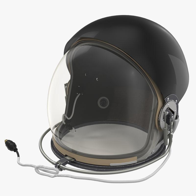 US Advanced Crew Escape Helmet 3d model 00.jpg