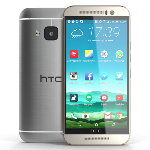 HTC One M9 3D Models