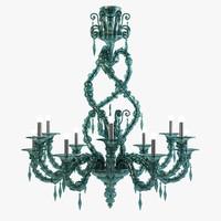 crystal chandelier 3D models