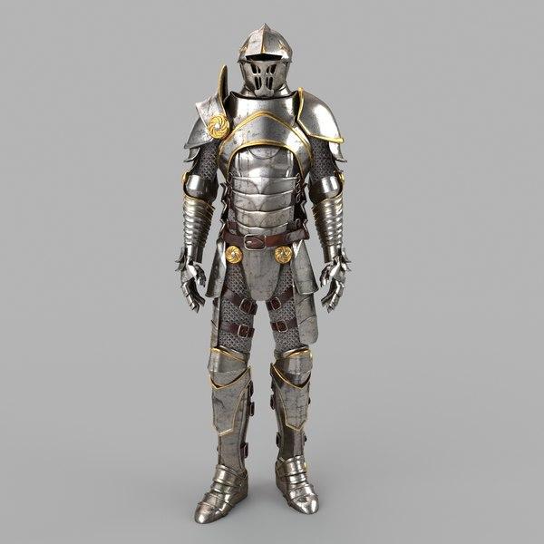 Medieval Armor 3D Models