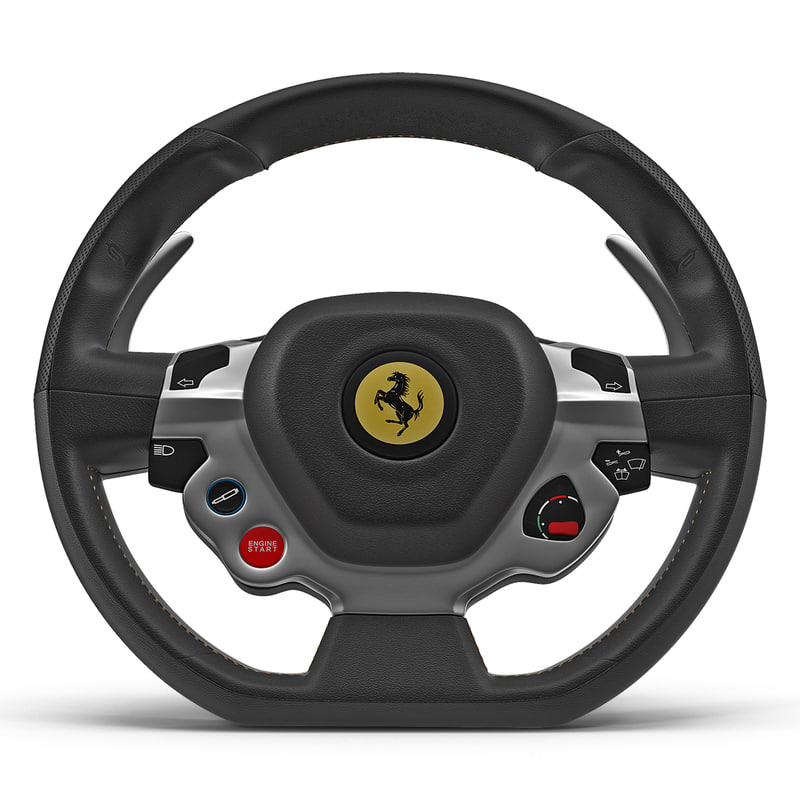 ferrari steering wheel 3d max. Cars Review. Best American Auto & Cars Review