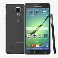 Samsung Galaxy Note 4 3D models