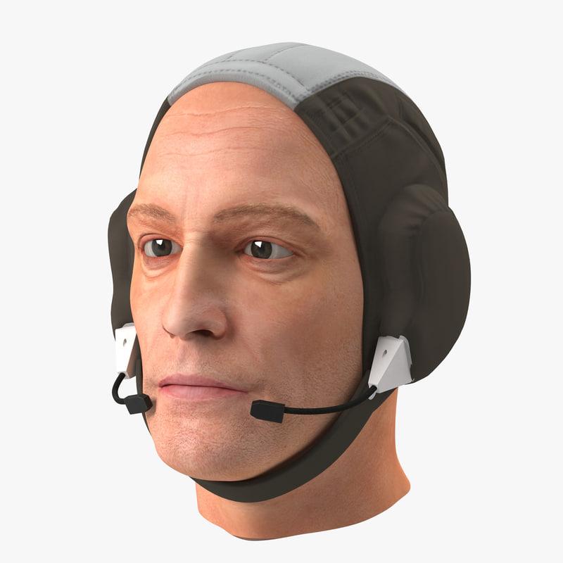 cinema4d astronaut head