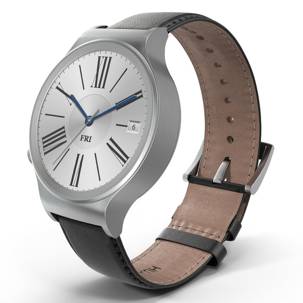 Huawei Watch 3 Leather Band 3D Models