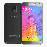 Samsung Galaxy Note 3 Neo 3D models