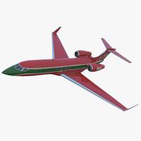 Gulfstream G500 3D models