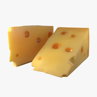 swiss cheese 3D models