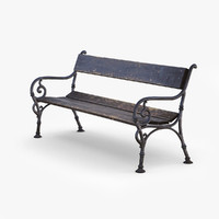 bench 3D models
