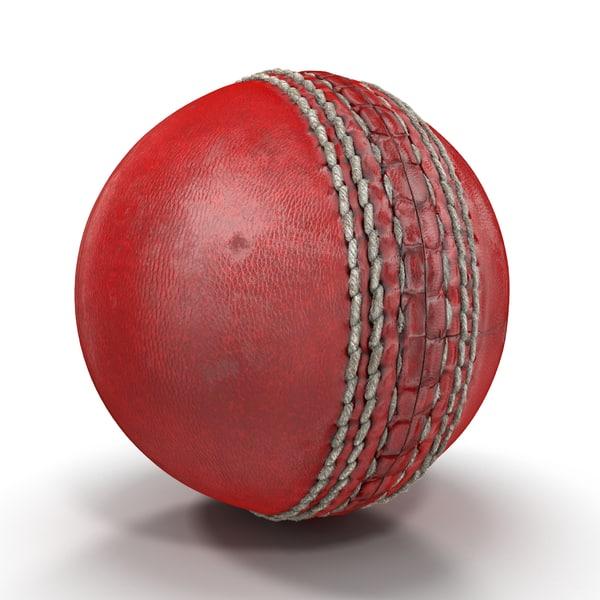 Cricket Ball 3D Models