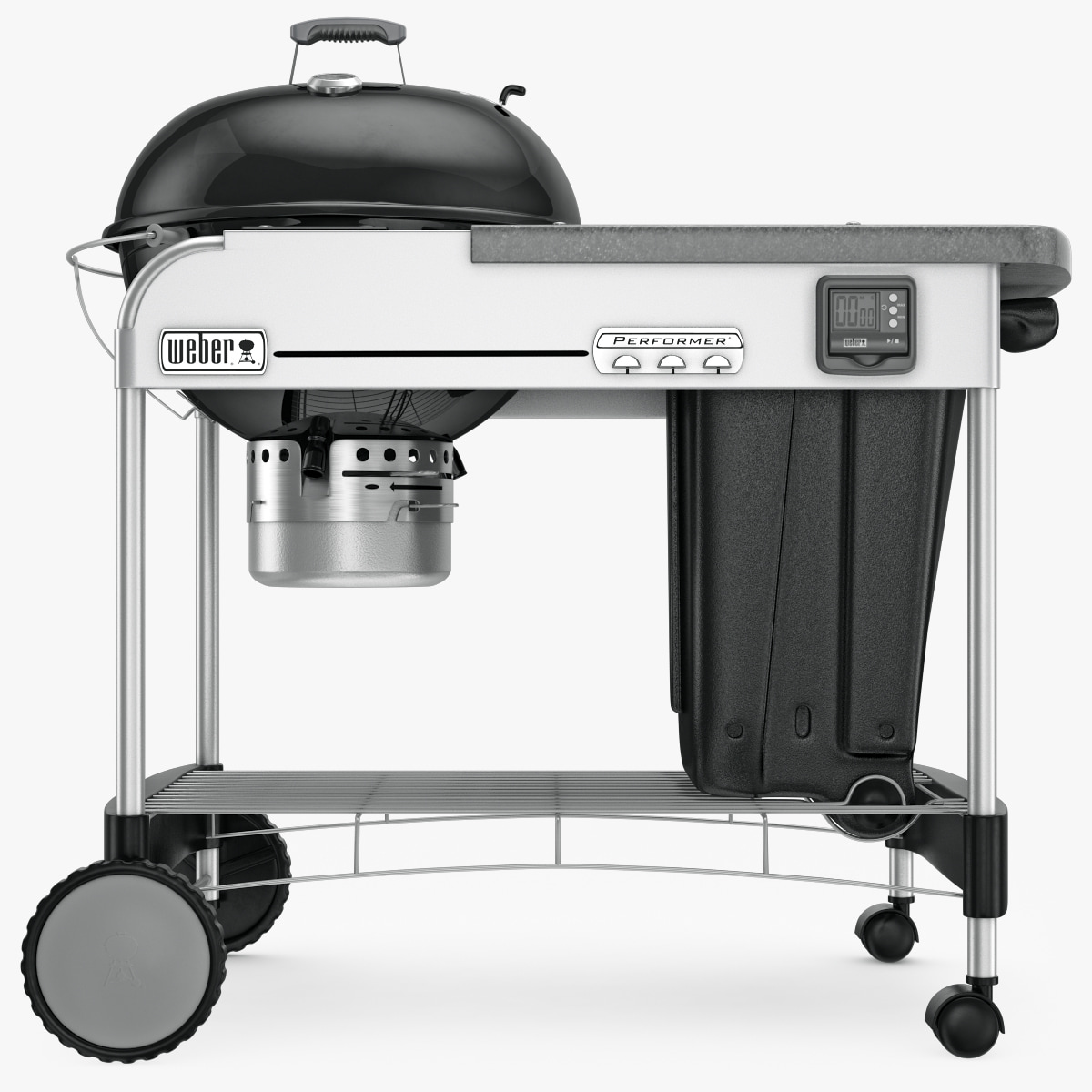 3d Model Weber Grill Charcoal Gbs