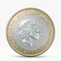 British coins 3D models