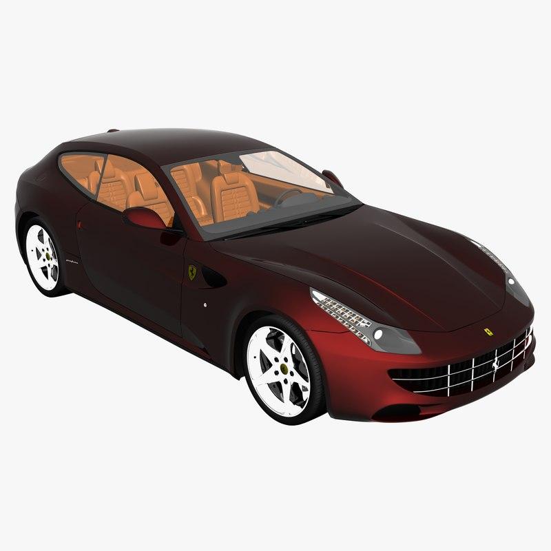 3d Model Ferrari Ff