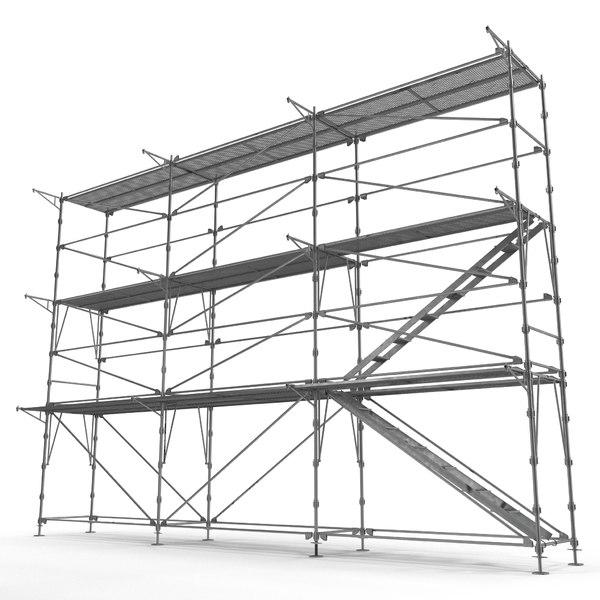 Scaffolding 3D Models