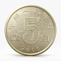chinese coins 3D models