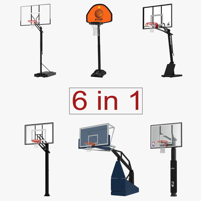 Basketball Hoops Collection 3d models 00.jpg