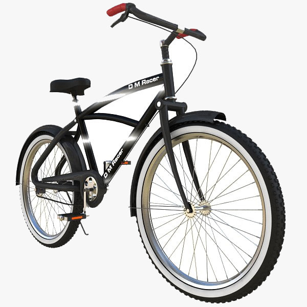 Stylish Bicycle 3D Models