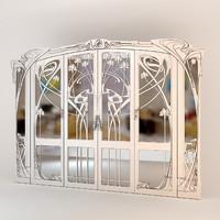 closet door 3D models