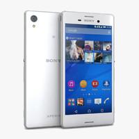 Sony Xperia M 3D models