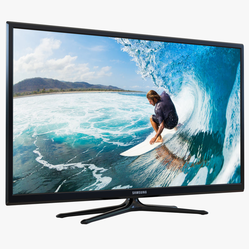 Samsung Plasma F5300 Series TV 60 inch 3d model 00.jpg