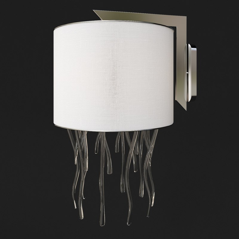 Sconce medusa 3d model for Medusa light fixture