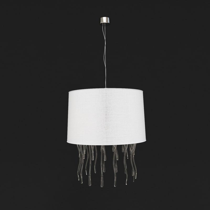 3d model chandelier medusa for Medusa light fixture