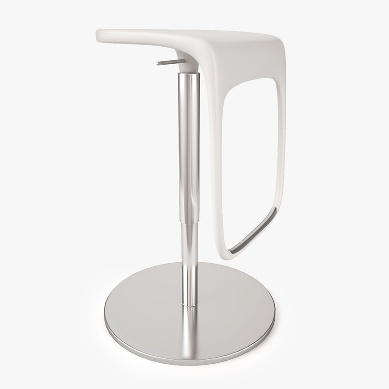 Ikea urban bar stool 3d max for Bar stools ikea