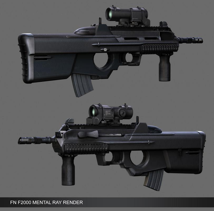 FN F2000_MENTAL RAY.jpg