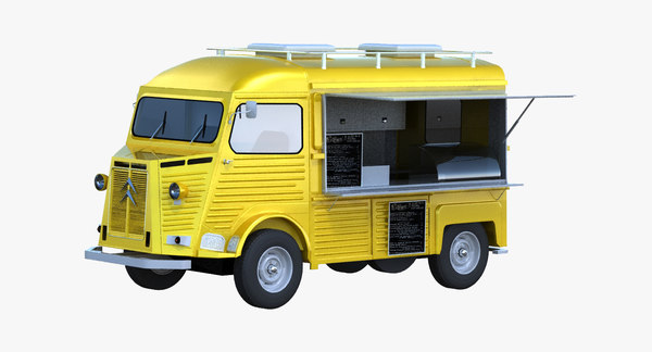 HY Food Truck 3D Models