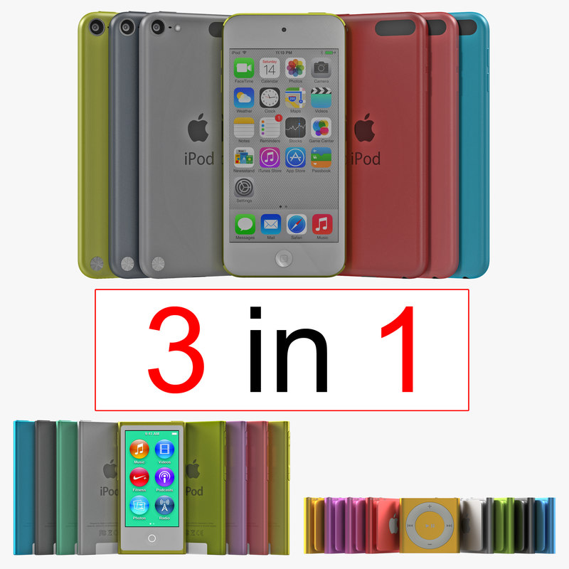 iPod Collection 3d models 00.jpg