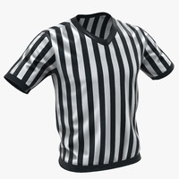 referee uniform 3D models