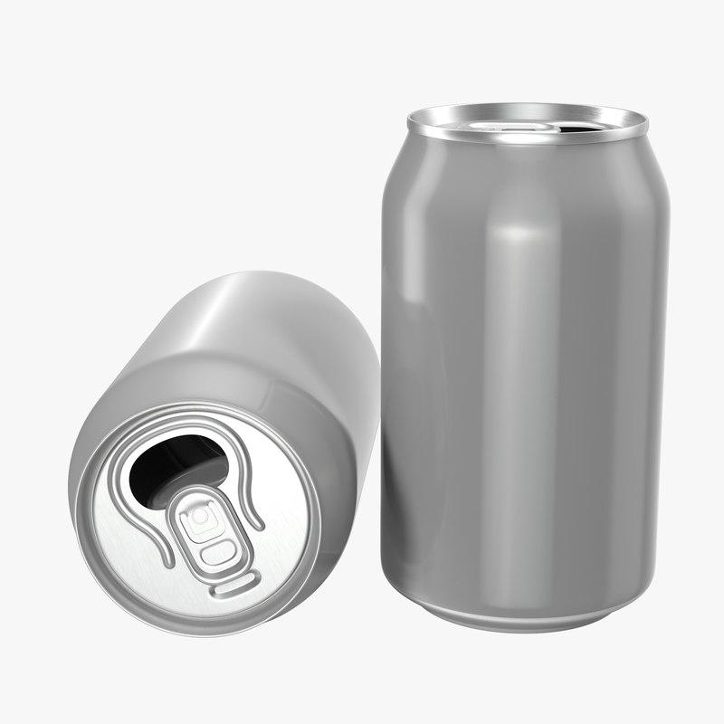 Aluminium Can Open 3d model 00.jpg