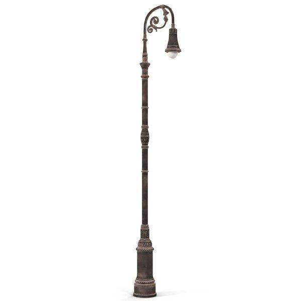 New York Street Lamp 3D Models
