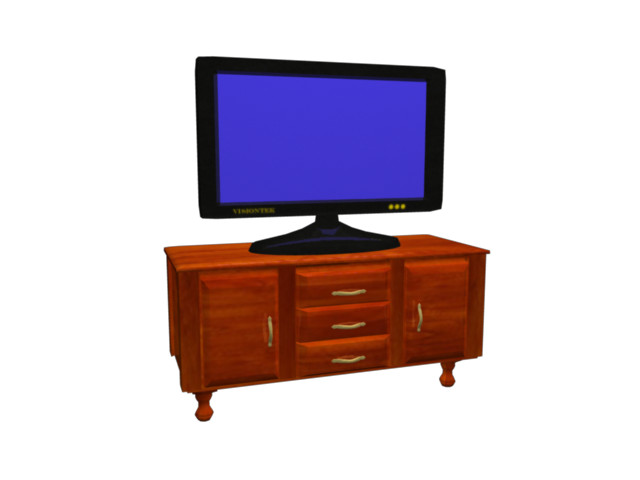 flat panel tv with stand.png