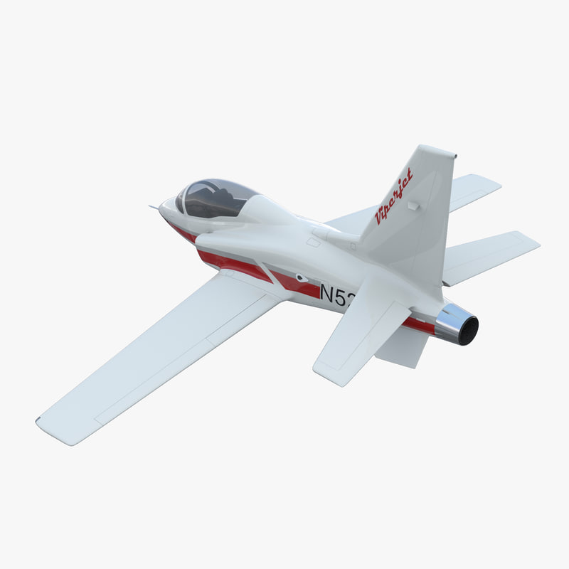 3d model of Sport Aircraft Vipe Jet Rigged 00.jpg