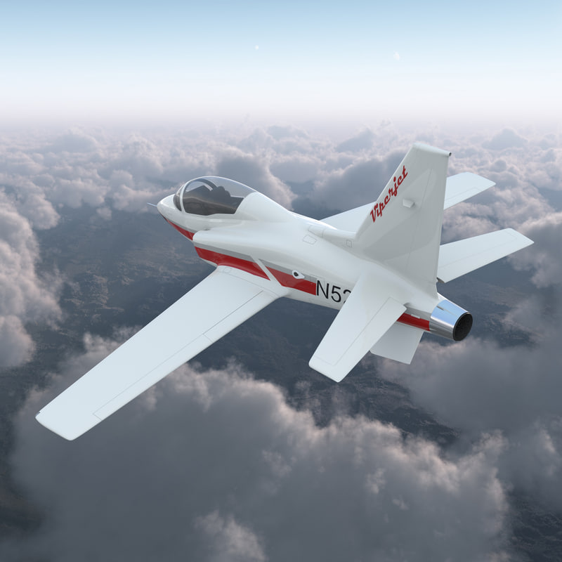 3d model of Sport Aircraft Vipe Jet Rigged 01.jpg