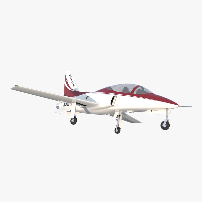 3d model of Sport Aircraft Vipe Jet 00.jpg