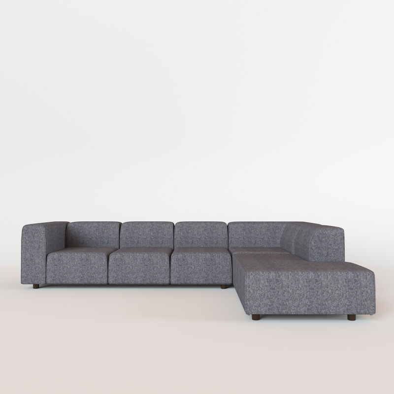 3d model of carmo sofa bo concept. Black Bedroom Furniture Sets. Home Design Ideas
