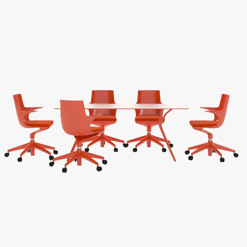 Spoon Chair And Table set office executive.jpg