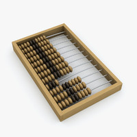 abacus 3D models