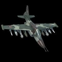 Su-25 3D models