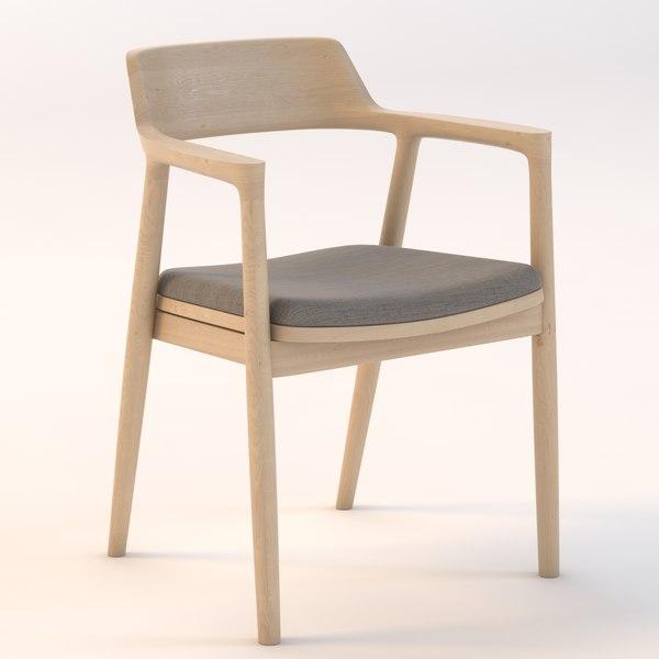 Hiroshima Lounge Chair 3D Models