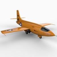 Bell X-1 3D models