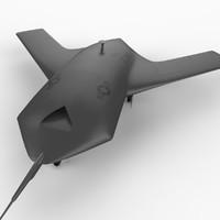 Boeing X-45 3D models