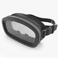 scuba mask 3D models