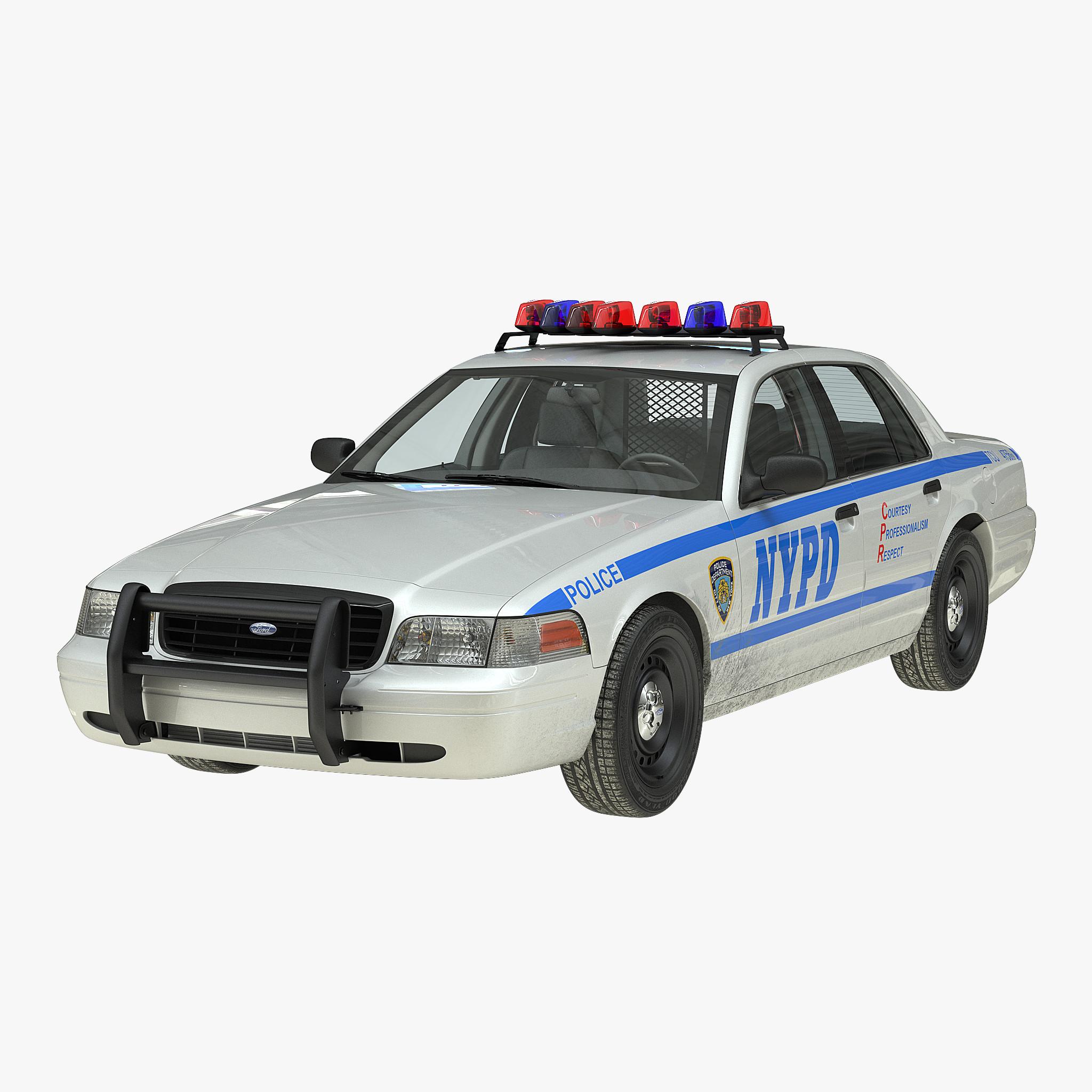 crown victoria police car 3d model. Black Bedroom Furniture Sets. Home Design Ideas