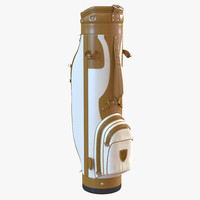 golf bag 3D models